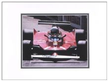 Jody Scheckter Autograph Signed Photo